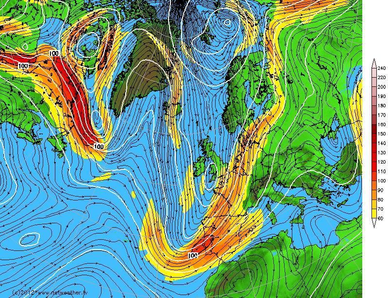Weather Forecast - Us jet stream forecast map
